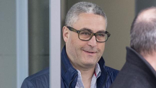 Der ehemalige Zuger Stadtrat Ivo Romer vor dem Zuger Strafgericht.