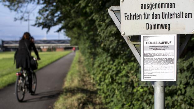 Die Luzerner Polizei suchte intensiv nach dem Täter.