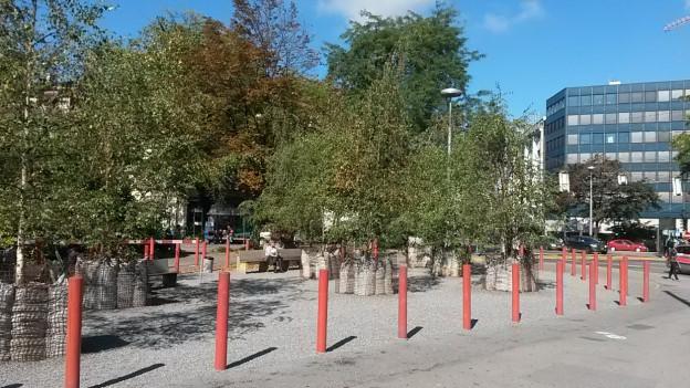 Die Baulücke am Pilatusplatz soll geschlossen werden.