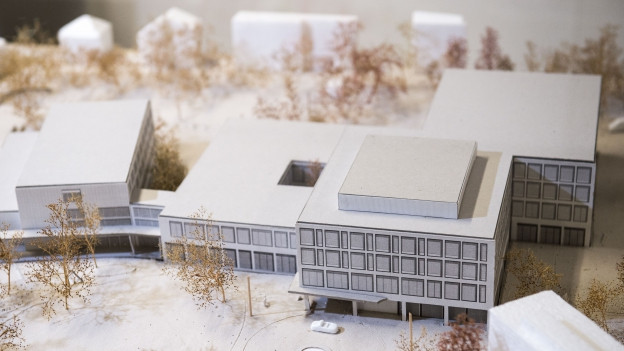 Das neue Spital soll insgesamt 124 Millionen Franken kosten.