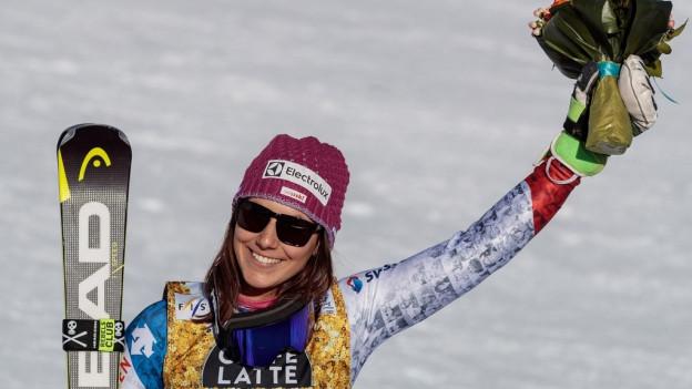 Wendy Holdener aus Unteriberg holte gleich zwei Medaillen.