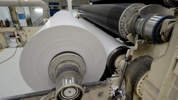 Die Sparte Papier läuft harzig bei der Chemie- und Papier Perlen.