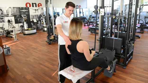 Im Fitnessbereich herrscht ein Verdrängungskampf.