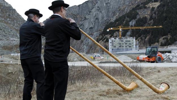 Wohl auch Thema der Urner Kantonsgeschichte: Resort in Andermatt.