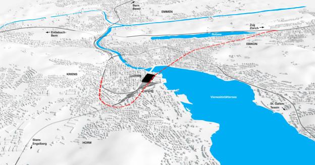 Luzern macht Druck für den erhofften Durchgangsbahnhof.