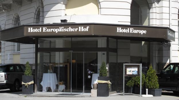 Hotel Europäischer Hof in Engelberg.