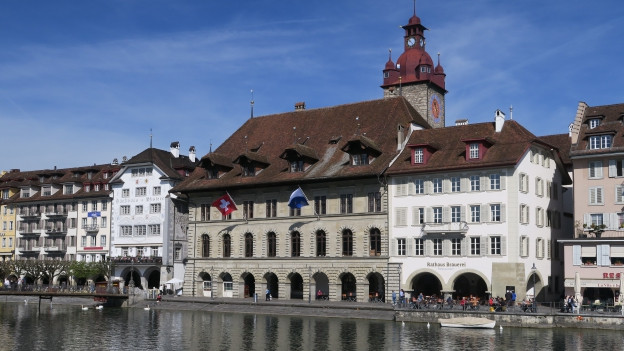 Ansicht Luzerner Altstadt.