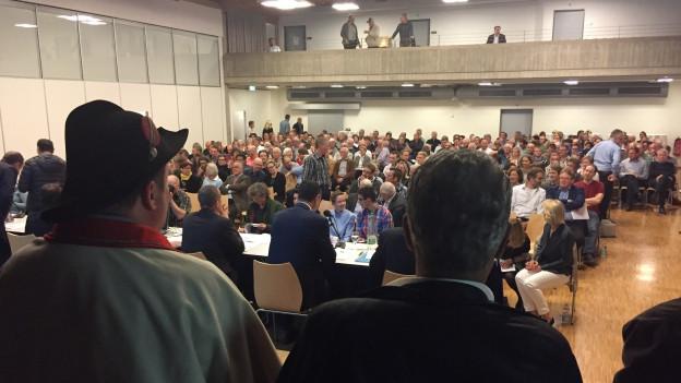 Die Bezirksversammlung in Küssnacht war sehr gut besucht.