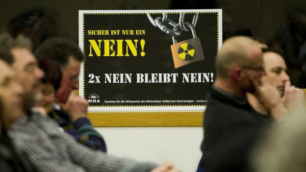 Der Nidwaldner Wellenberg wird als Standort für Atommüll immer unwahrscheinlicher