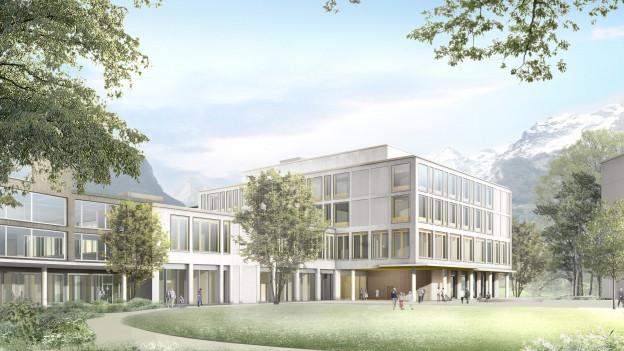 Der Urner Landrat sagt Ja zum 115 Millionen Franken Kredit für den Neubau des Kantonsspitals.