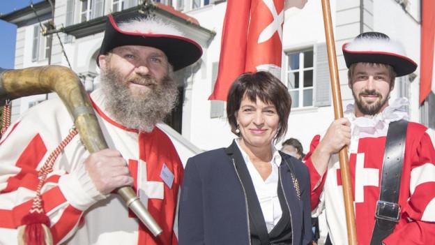 Doris Leuthard würdigt Niklaus von Flüe