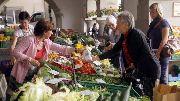 Wochenmarkt-Ausschreibung ab Ende Mai