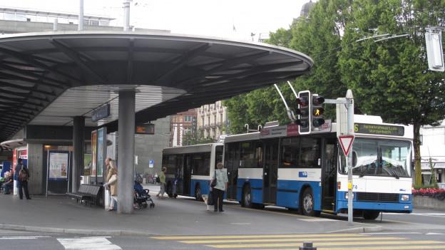 Die Verkehrsbetriebe Luzern konnten ihren Gewinn leicht steigern.