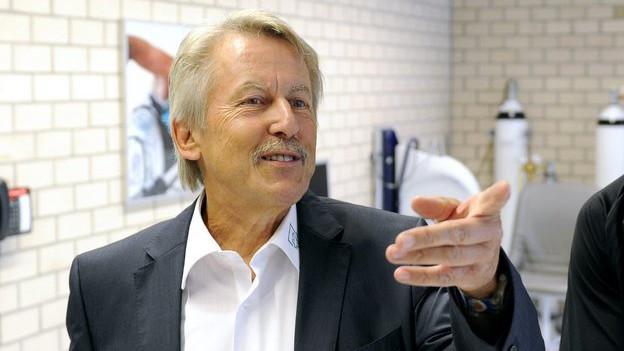 Porträt des Luzerner Gesundheitsfachmanns Beat Villiger.