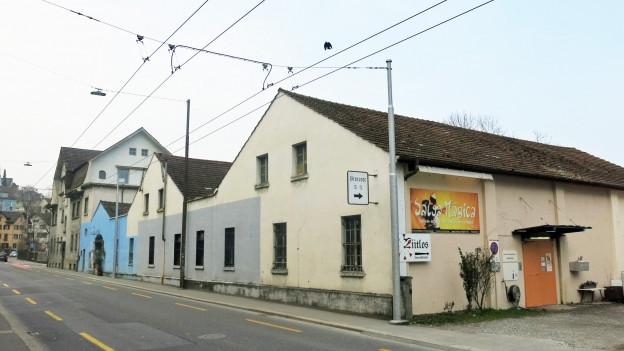 Indurstriareal in Stadt Luzern
