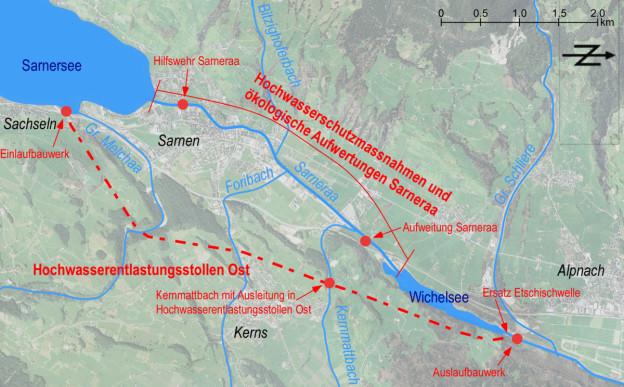 Das Hochwasserschutzprojekt im Überblick