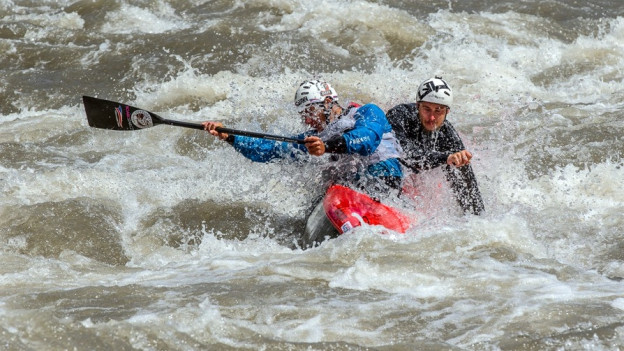 Auf der Muota finden 2018 die Weltmeisterschaften der Kanuten statt.