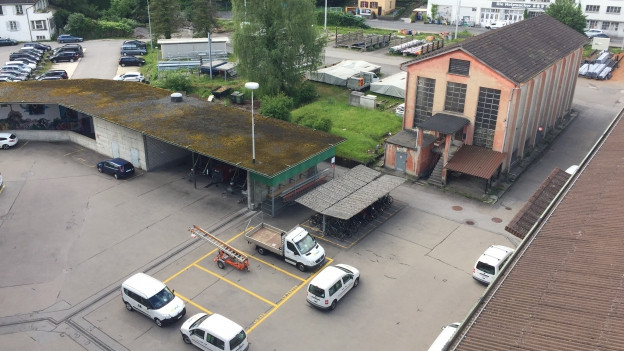ewl Areal: Neben Feuerwehr und Pollizei soll neue Wohnungen gebaut werden.