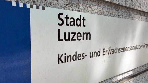 Seit 2013 zuständig für den Kinder- und Erwachsenenschutz: Die KESB der Stadt Luzern.