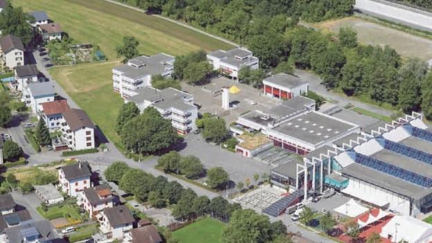 Alles soll neu werden beim Schulhaus Wiesental in Baar. Kostenpunkt: 88 Millionen Franken