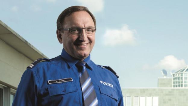 Der Zuger Polizeikommandant Karl Walker