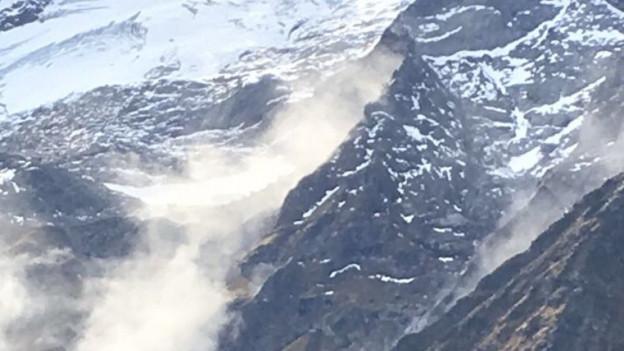 Entwarnung nach Felssturz in Engelberg.
