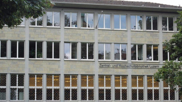Das Hauptgebäude der ZHB