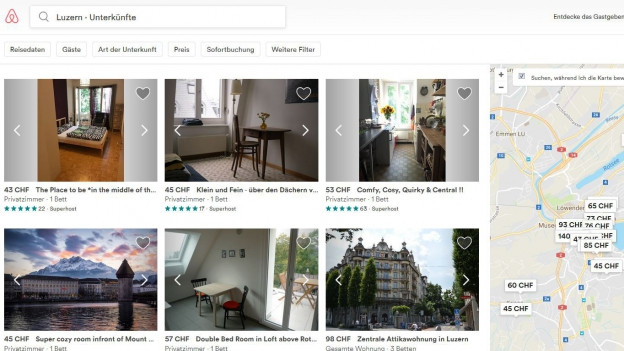 Airbnb in der Stadt Luzern: Das Unbehagen wächst