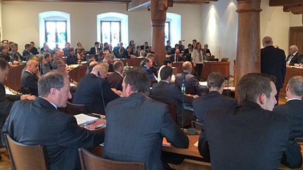 Ratsdebatte des Schwyzer Kantonsrates