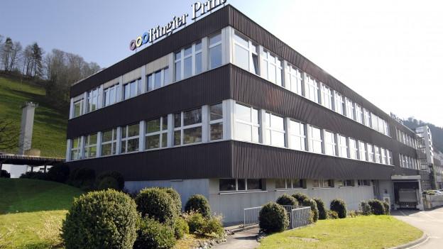 Gebäude der Ringier Print in Adligenswil