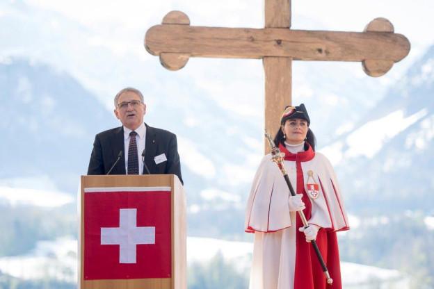 Der Obwaldner Regierungsrat Franz Enderli zieht eine positive Bilanz.