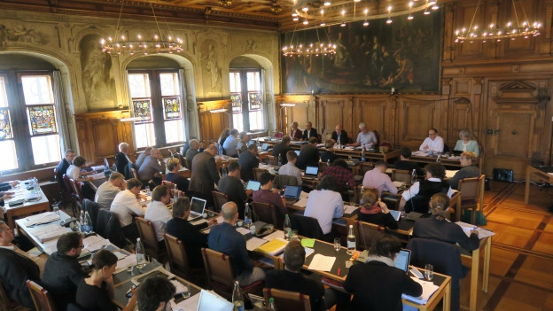 Nur die SVP und ein kleiner Teil der FDP stimmten für tiefere Steuern. Alle anderen Parteien waren dagegen.