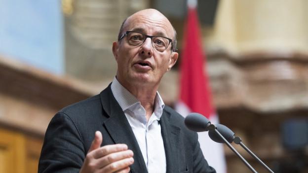 Louis Schelbert ist seit über 35 Jahren in der Politik tätig.