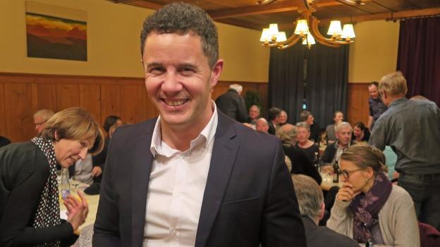 Portrait des 43-jährigen Christian Schäli