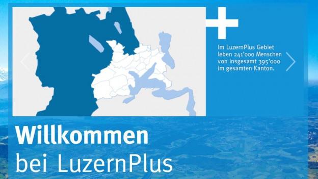 Die 25 Gemeinden des Verbands LuzernPlus