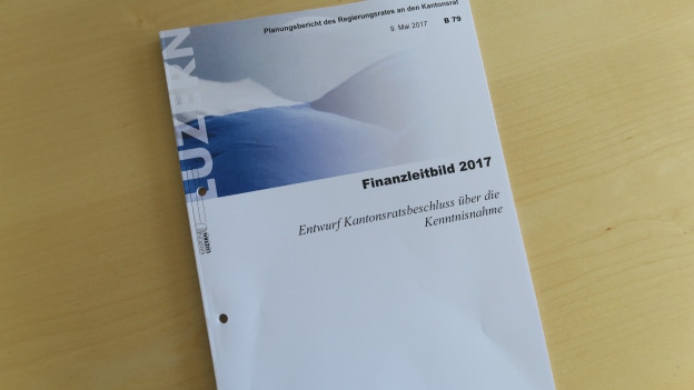 Die Luzerner Regierung will bei den Finanzen Prioritäten setzen.