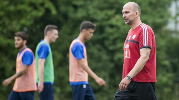 Am Wochenende gilt es für Trainer Markus Babbel und den FCl ernst.