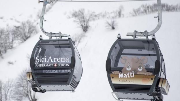 Die neuen Gondeln bringen pro Stunde 2400 Personen ins Skigebiet.