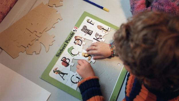 ABC-lernen gehört überall zur Grundbildung.