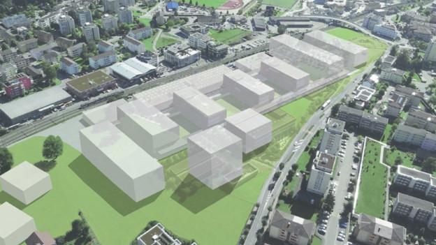 So soll der Campus der HSLU in Horw aussehen.