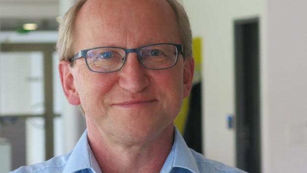 Porträt von Markus Hodel, Rektor der Hochschule Luzern