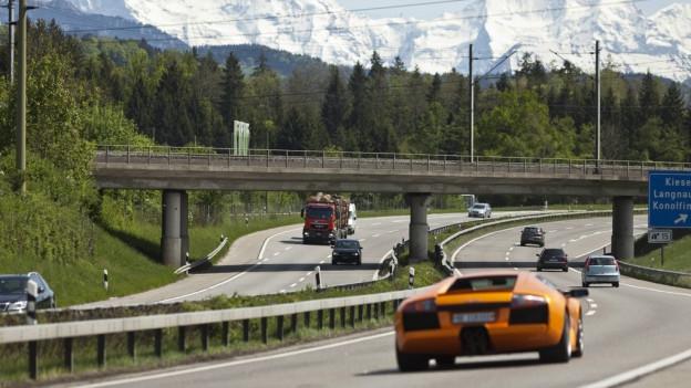 Luzerner Polizei stoppt Raserbande