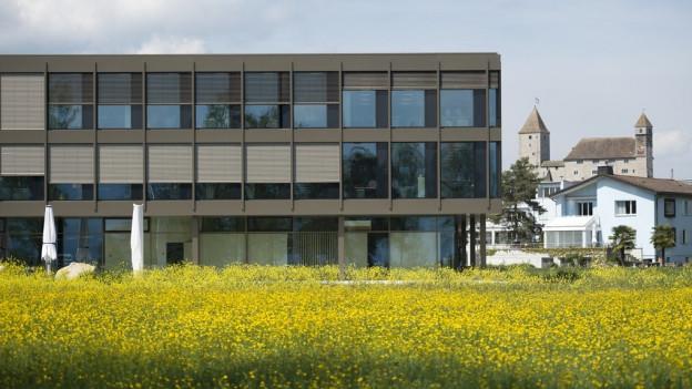 Das neue Forschungszentrum der Fachhochschule Rapperswil.