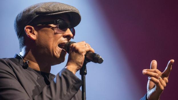 Der deutsche Soul-Sänger Xavier Naidoo wusste das Luzerner Publikum an sich zu binden.