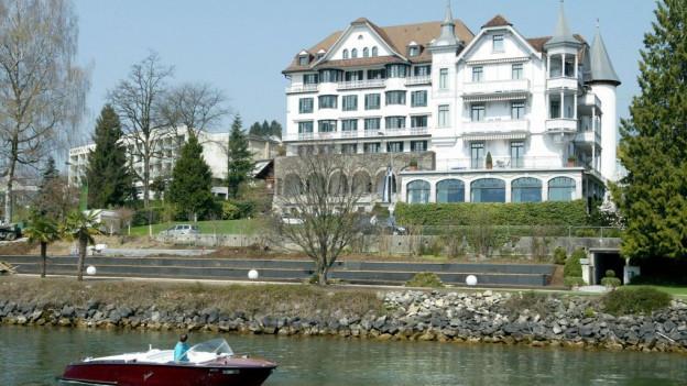 Beim Park Hotel Weggis soll eine neue Wellness Oase entstehen