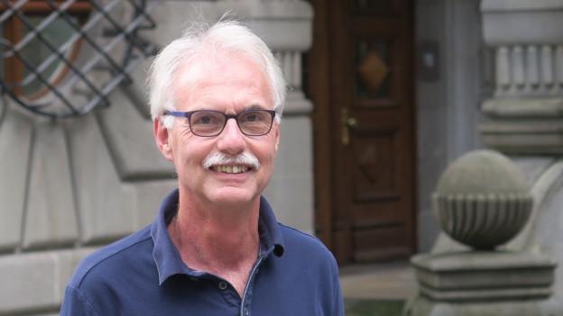Porträt des abtretenden Luzerner Stadtschreibers Toni Göpfert.