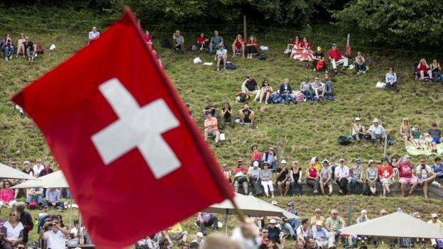 Bei der traditionellen Feier waren 1300 Leute dabei.