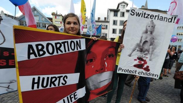 Teilnehmerinnen und Teilnehmer eines vergangenen Marsches in Zürich