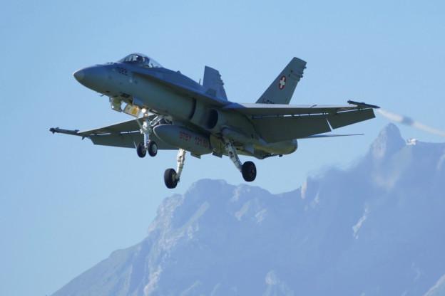 Besonders die Flugzeuge des Typs F/A-18 sind dem Schutzverband ein Dorn im Auge: Sie sind lauter als Tiger-Jets.