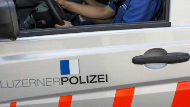 Die Luzerner Polizei hat zwei Personen festgenommen.